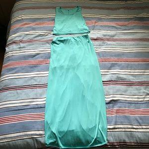 Two Piece Seafoam Dress